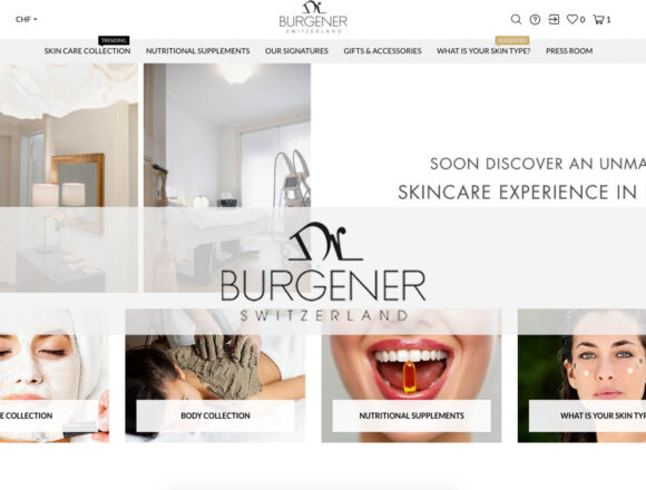 DR Burgener Switzerland